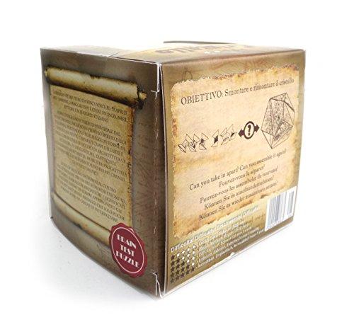 Logica Giochi Art Anaconda Rompicapo 3d In Legno Ad Incastro Difficolta 56 Incredibile Serie Da Collezione Leonardo Da Vinci 0 2