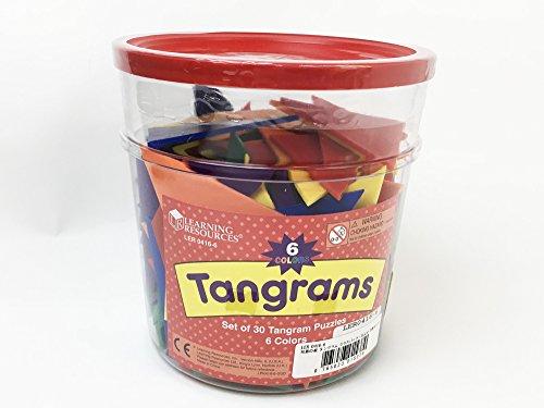Learning Resources Tangram In Sei Colori Ler0416 6 0 0