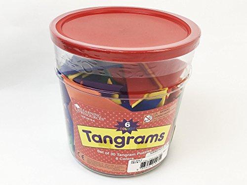Learning Resources Tangram In Sei Colori Ler0416 6 0 2