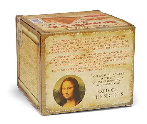 Logica Giochi Art Piramide 9 Pz Rompicapo In Legno Ad Incastro Difficolta 36 Difficile Serie Leonardo Da Vinci 0 3