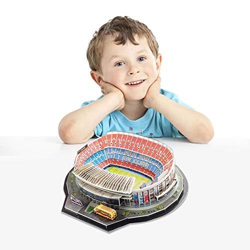 Longrep Stadio Puzzle 3d Kit Di Costruzione Di Modelli Per Bambini Modelli Per Adulti Puzzle Da Stadio Di Calcio Fai Da Te Kit Modello Stadio Nou Camp Regalo Giocattolo Educativo Per Ragazze Ragazzi 0 1