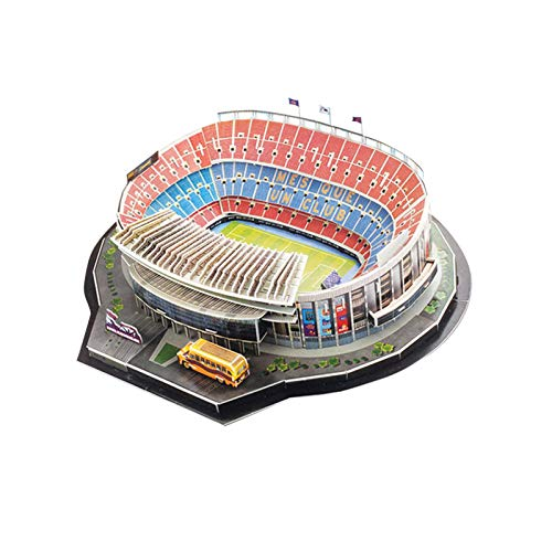 Longrep Stadio Puzzle 3d Kit Di Costruzione Di Modelli Per Bambini Modelli Per Adulti Puzzle Da Stadio Di Calcio Fai Da Te Kit Modello Stadio Nou Camp Regalo Giocattolo Educativo Per Ragazze Ragazzi 0