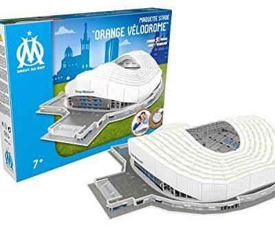 Megableu Puzzle 3d Arancione Velodrome Olympique De Marsille Con Led 678266 0