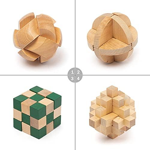 Pamray 3d Puzzle Giocattoli Legno Rompicapo Giocattoli Educativi Game Gioco Di Cube Regali Per Bambini Style B 0