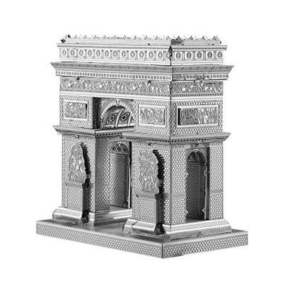 Piececool 3d Kit Per Fai Da Te Modelli Di Naviere In Metallo Tagliato Al Laser Puzzle Per Adulti Arco Di Triomphe 0