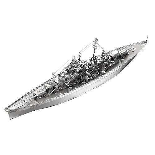 Piececool Kit Modello In Metallo Bismarck Battleship Puzzle 3d In Metallo Per Adulti 0