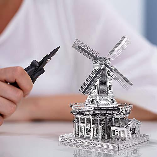 Piececool Metal Modello 3d Puzzle Olandese A Vento In Metallo Modello Per Risveglio 0 0