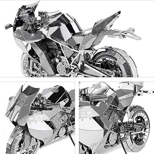 Piececool Puzzle In Metallo 3d Per Adulti Motorcycle Ii Modellino In Metallo Per Adulti 0 0
