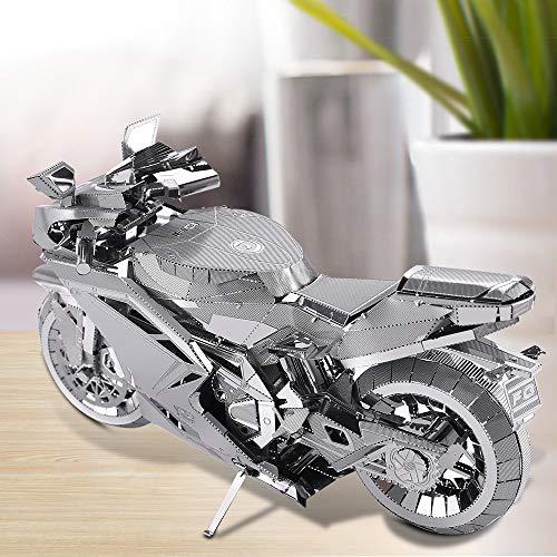 Piececool Puzzle In Metallo 3d Per Adulti Motorcycle Ii Modellino In Metallo Per Adulti 0 4