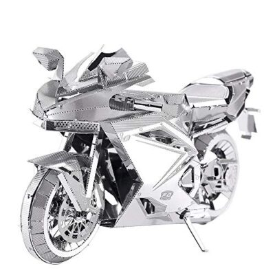Piececool Puzzle In Metallo 3d Per Adulti Motorcycle Ii Modellino In Metallo Per Adulti 0
