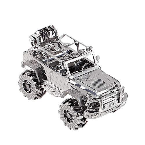Piececool Suv Off Road Vehicle Kit Modello In Metallo Puzzle 3d In Metallo Per Adulti 0 0