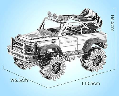 Piececool Suv Off Road Vehicle Kit Modello In Metallo Puzzle 3d In Metallo Per Adulti 0 2