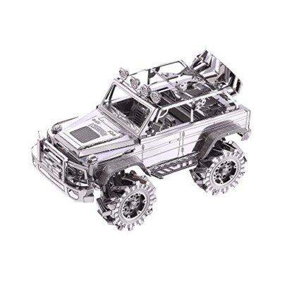 Piececool Suv Off Road Vehicle Kit Modello In Metallo Puzzle 3d In Metallo Per Adulti 0