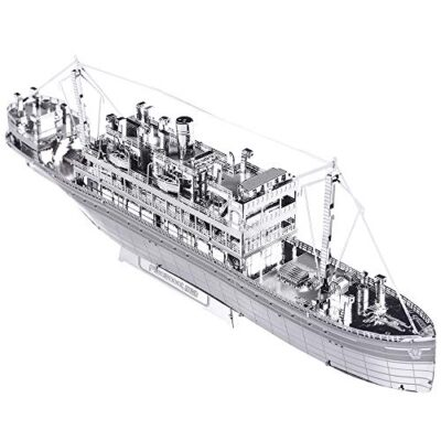 Piececool The Crossing Ship Puzzle In Metallo 3d Per Adulti Modello In Metallo Per Adulti 0