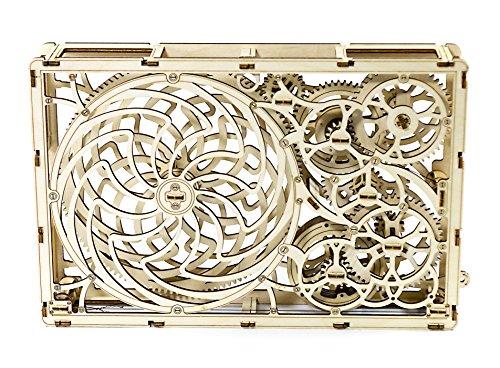 Puzzle 3d Meccanico Kinetic Picture By Woodencity Modellino Di Progetti Per Adulti E Bambini 3d Modello Tecnico In Legno 0 0
