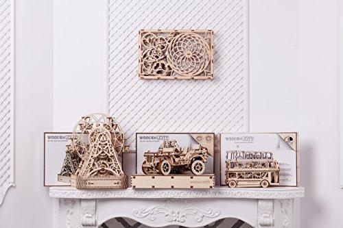 Puzzle 3d Meccanico Kinetic Picture By Woodencity Modellino Di Progetti Per Adulti E Bambini 3d Modello Tecnico In Legno 0 4