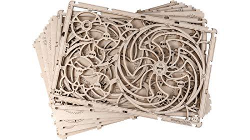 Puzzle 3d Meccanico Kinetic Picture By Woodencity Modellino Di Progetti Per Adulti E Bambini 3d Modello Tecnico In Legno 0 5