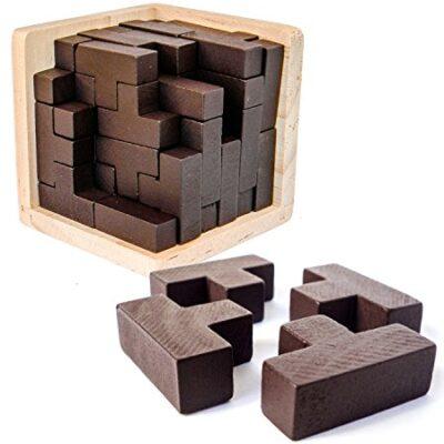 Puzzle Rompicapo 3d In Legno Di Sharp Brain Zone Gioco Istruttivo Per Bambini E Adulti Esplora La Creativita E Le Capacita Di Risoluzione Dei Problemi Original 0