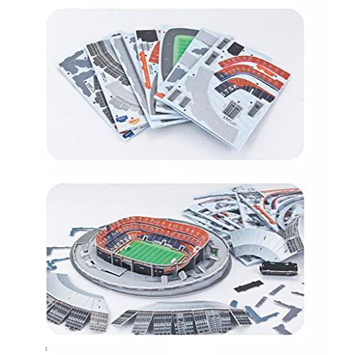 Puzzle Stadio 3d Modello Stadio 3d Shakhtar Donetsk Football Club Collezione Regalo Puzzle Tridimensionale Fatto A Mano Fai Da Te 0 1