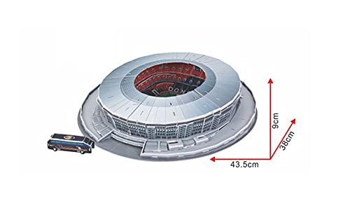 Puzzle Stadio 3d Modello Stadio 3d Shakhtar Donetsk Football Club Collezione Regalo Puzzle Tridimensionale Fatto A Mano Fai Da Te 0 3