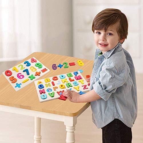 Puzzle In Legno Per Bambininumeri Educativi Puzzle 0 9 Puzzle Con Piolo Gioco Da Tavolo Per Lapprendimento Della Matematica Blocco Impilabile Per Ragazzi E Ragazze 0 1