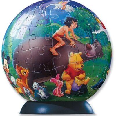 Ravensburger Puzzle Ball 96 Parti Gli Amici Disney 0