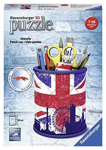 Ravensburger 11153 Portapenne Puzzle 3d Motivo Union Jack 0