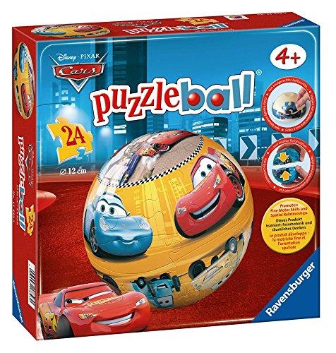Ravensburger 11456 Disney Cars Puzzleball 24 Pezzi 0 0