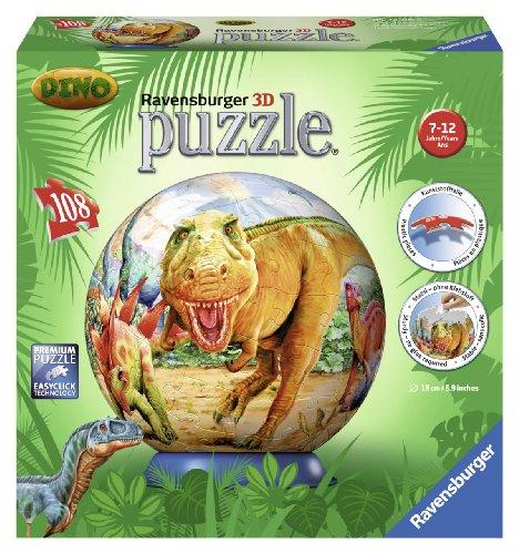 Ravensburger 12206 Puzzleball Dinosauri 108 Pezzi 0 0