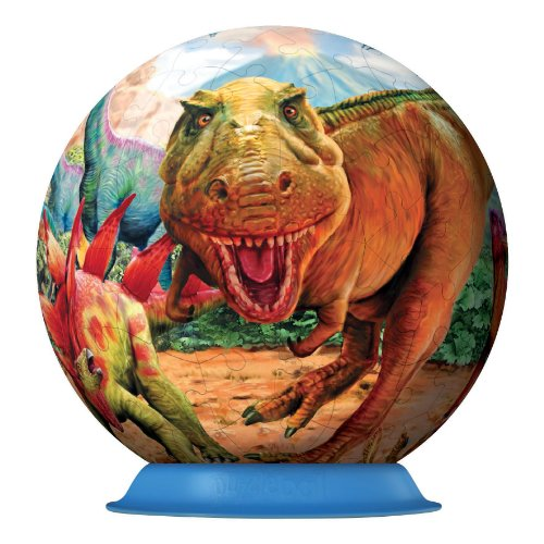 Ravensburger 12206 Puzzleball Dinosauri 108 Pezzi 0 1