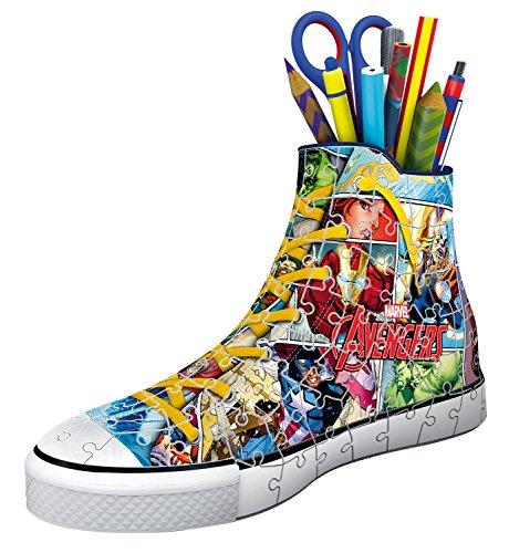 Ravensburger 3d Puzzle Sneaker Di Avengers Portapenne Di 108 Pezzi Eta Raccomandata 8 12113 7 0 0