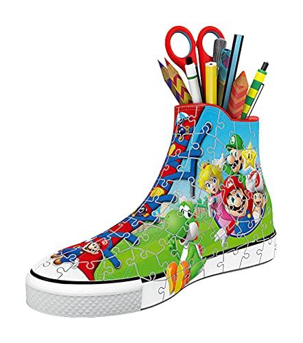 Ravensburger 3d Puzzle Sneaker Di Super Mario Portapenne Di 108 Pezzi Eta Raccomandata 8 11267 8 0 0