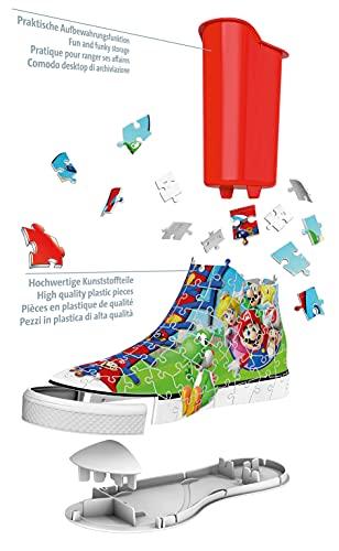 Ravensburger 3d Puzzle Sneaker Di Super Mario Portapenne Di 108 Pezzi Eta Raccomandata 8 11267 8 0 2