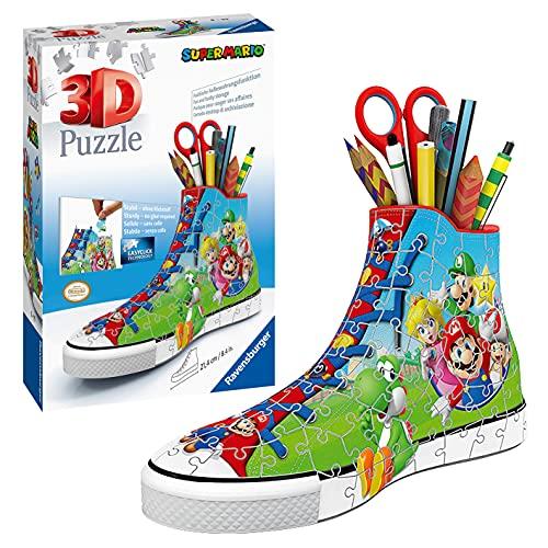 Ravensburger 3d Puzzle Sneaker Di Super Mario Portapenne Di 108 Pezzi Eta Raccomandata 8 11267 8 0