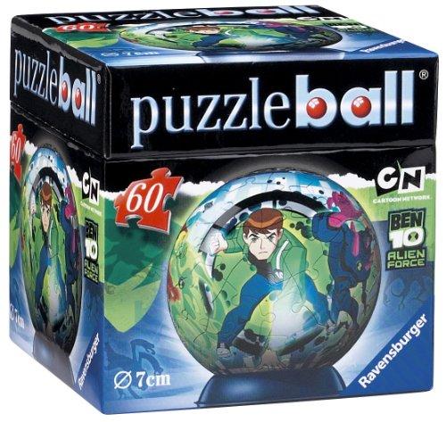 Ravensburger Ben 10 Forza Aliena Puzzleball Da 60 Pezzi 0 1