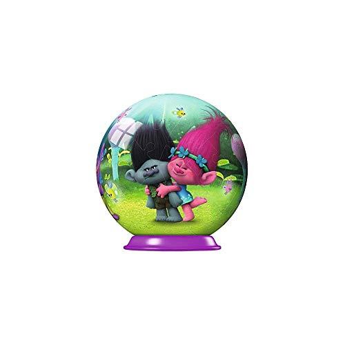 Ravensburger Disney Trolls Mini Puzzleball 54pc 0