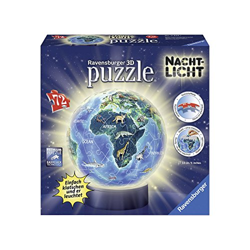 Ravensburger Erwachsenenpuzzle Terra In Design Luce Notturna Colore Giallo 11844 0 2