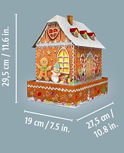 Ravensburger Gingerbread House Multicolore 11237 1 0 3