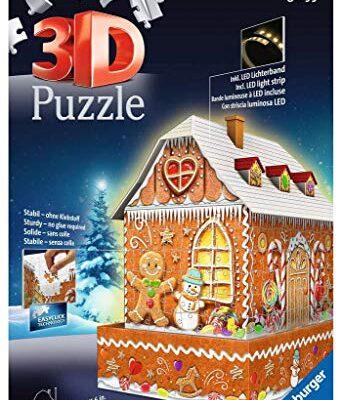 Ravensburger Gingerbread House Multicolore 11237 1 0