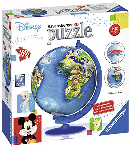Ravensburger Italy Classics Globo Disney 3d Puzzleball 12343 0 0