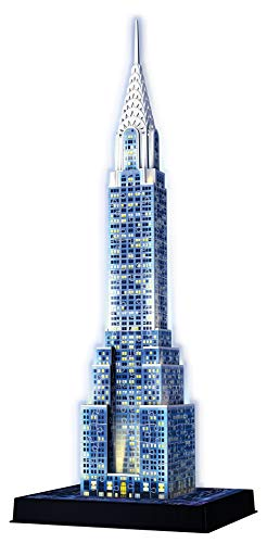 Ravensburger Italy Puzzle 3d Chrysler Building Night Edition 12595 0 1
