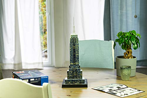 Ravensburger Italy Puzzle 3d Chrysler Building Night Edition 12595 0 2