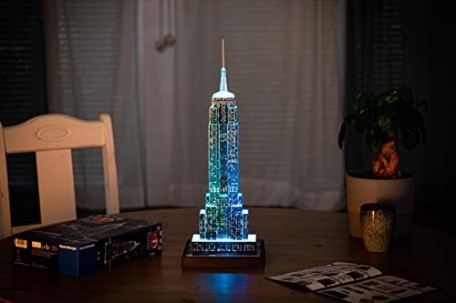Ravensburger Italy Puzzle 3d Chrysler Building Night Edition 12595 0 3