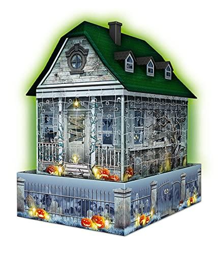 Ravensburger Puzzle 3d Casa Degli Spettri Night Edition Multicolore 11254 8 0 1