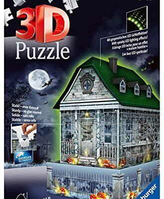 Ravensburger Puzzle 3d Casa Degli Spettri Night Edition Multicolore 11254 8 0