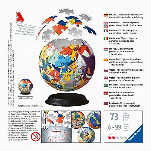 Ravensburger Puzzle 3d Pokemon 72 Pezzi 11785 0 2