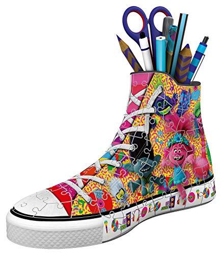 Ravensburger Puzzle 3d Sneaker 108 Pieces Trolls 2 Multicolore 11231 0 0