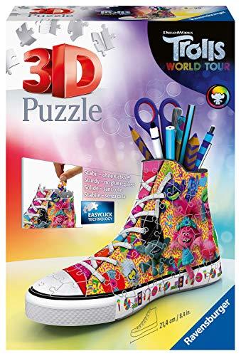 Ravensburger Puzzle 3d Sneaker 108 Pieces Trolls 2 Multicolore 11231 0 1