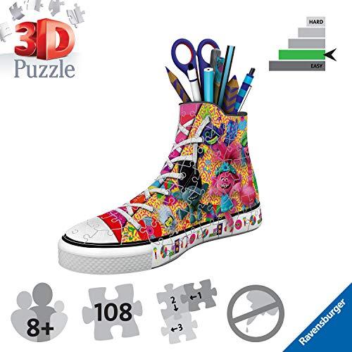 Ravensburger Puzzle 3d Sneaker 108 Pieces Trolls 2 Multicolore 11231 0 3