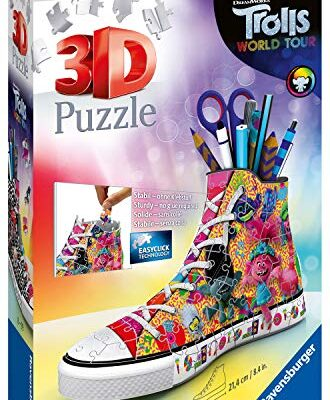 Ravensburger Puzzle 3d Sneaker 108 Pieces Trolls 2 Multicolore 11231 0
